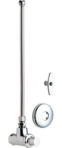 Chicago Faucets - 1017-ABCP - Angle Stop