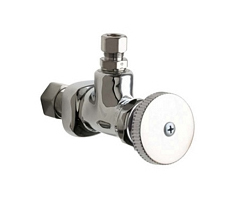 Chicago Faucets - 1024-CP - Angle Stop