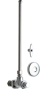 Chicago Faucets - 1027-ABCP - Angle Stop