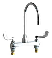 Chicago Faucets - 1100-GN8AE3-317AB - ECAST™ LEAD FREE SINK FAUCET