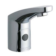 Chicago Faucets - 116.306.21.1 - E-Tronic 20 with Single Supply Line for Tempered Water (AC Power with Transformer)