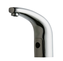 Chicago Faucets 116.590.AB.1 - HYTRONIC TRADITIONAL SINK FAUCET WITH DUAL BEAM INFRARED SENSOR