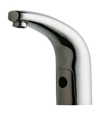 Chicago Faucets 116.591.AB.1 - HYTRONIC TRADITIONAL SINK FAUCET WITH DUAL BEAM INFRARED SENSOR - PATIENT CARE APPLICATION
