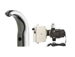 Chicago Faucets 116.902.AB.1 HyTronic Traditional Sink Faucet with Dual Beam Infrared Sensor