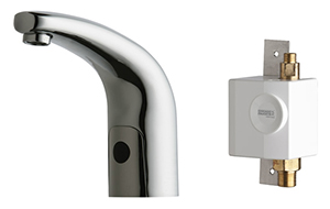 Chicago Faucets 116.931.AB.1 - Hytronic Traditional Sink Faucet with Dual Beam Infrared Sensor