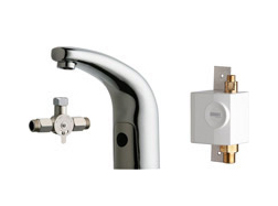 Chicago Faucets 116.961.AB.1 - HYTRONIC TRADITIONAL SINK FAUCET WITH DUAL BEAM INFRARED SENSOR