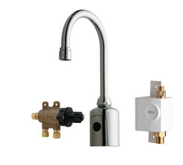 Chicago Faucets 116.973.AB.1 - LAV FAUCET, HYTRONIC SSPS US
