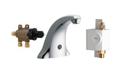 Chicago Faucets 116.976.AB.1 - E-TRONIC® 40 TRADITIONAL SINK FAUCET WITH DUAL BEAM INFRARED SENSOR