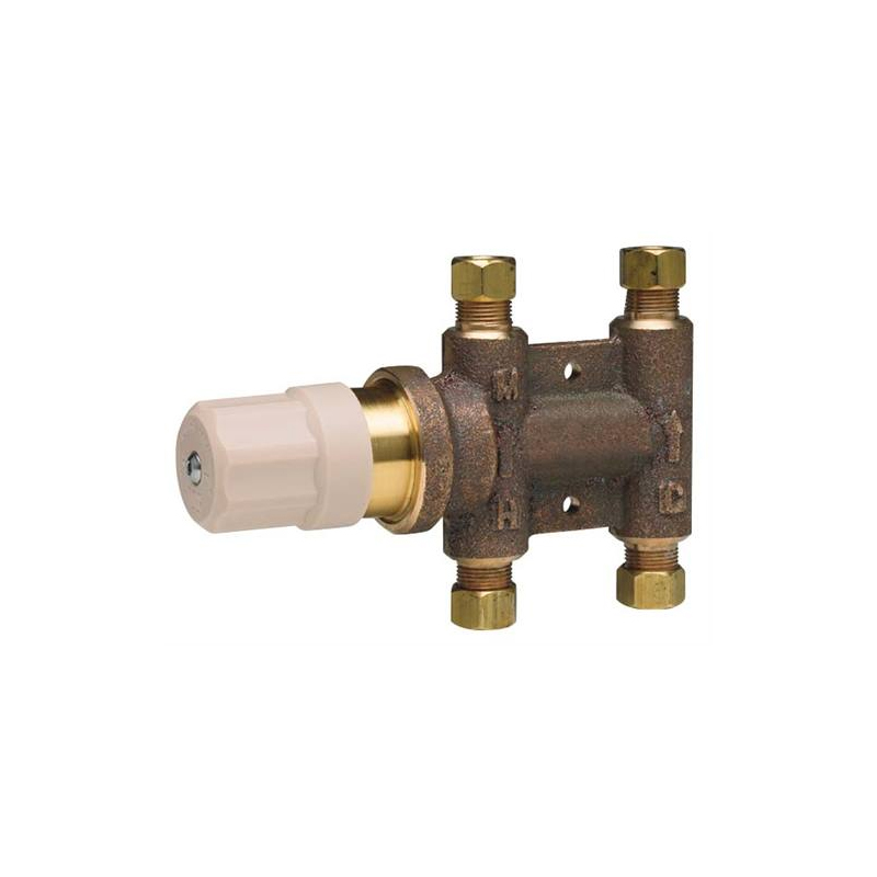 T S Ec Tmv Thermostatic Mixing Valve For Chekpoint Faucets: 121-NF Thermostatic Mixing Valve