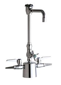 Chicago Faucets - 1301-GN2BVBCP - Laboratory Fitting