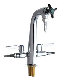Chicago Faucets - 1332-CP - Laboratory Dual Service