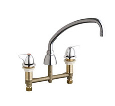 Chicago Faucets 201-A1000CP - CONCEALED KITCHEN SINK FAUCET