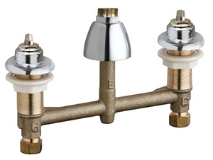 Chicago Faucets 201-A1000LESHAB - CONCEALED KITCHEN SINK FAUCET