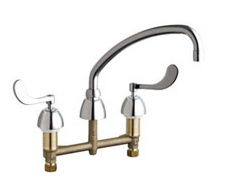Chicago Faucets - 201-A317VPCABCP - Kitchen Sink Faucet without Spray
