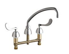 Chicago Faucets - 201-A317XKABCP - Kitchen Sink Faucet without Spray