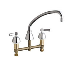 Chicago Faucets - 201-ACP - Kitchen Sink Faucet without Spray