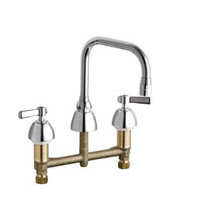 Chicago Faucets - 201-ADB6AE3CP - Kitchen Sink Faucet without Spray