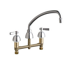 Chicago Faucets - 201-AE29CP - Kitchen Sink Faucet without Spray