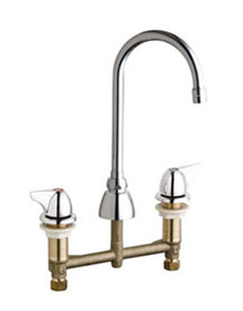 Chicago Faucets 201-AGN2AE3-1000AB - CONCEALED KITCHEN SINK FAUCET