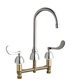 Chicago Faucets - 201-AGN2AE3-317VPAAB - Kitchen Sink Faucet without Spray
