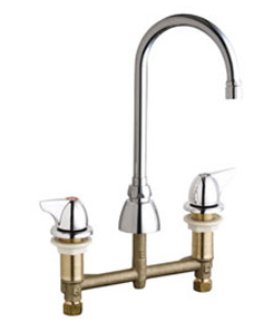 Chicago Faucets 201-AGN2AE3VPC1000CP - CONCEALED KITCHEN SINK FAUCET