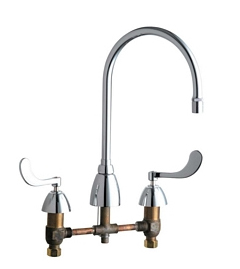 Chicago Faucets - 201-AGN8AE29-317AB - ECAST™ LEAD FREE KITCHEN SINK FAUCET