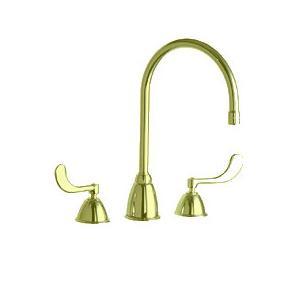Chicago Faucet - 201-AGN8AE3-317BHF - Polished Brass