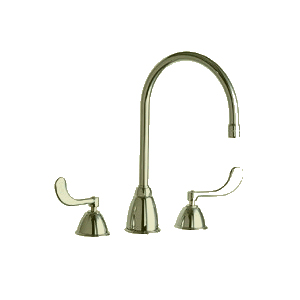 Chicago Faucet - 201-AGN8AE3-317NHF - Brushed Nickel
