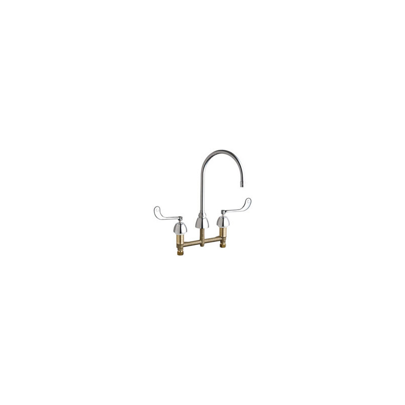 Chicago Faucets 201 Agn8ae3 319ab Ecast Kitchen Sink