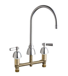 Chicago Faucets - 201-AGN8AE3CP - Kitchen Sink Faucet without Spray