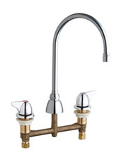 Chicago Faucets 201-AGN8AE3VPA1000CP - CONCEALED KITCHEN SINK FAUCET