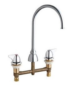 Chicago Faucets 201-AGN8FC1000ABCP - CONCEALED KITCHEN SINK FAUCET