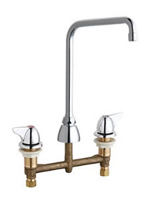 Chicago Faucets 201-AHA8-1000XKCP - CONCEALED KITCHEN SINK FAUCET