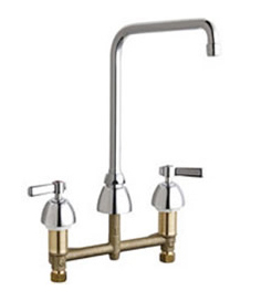 Chicago Faucets - 201-AHA8XKABCP - Kitchen Sink Faucet without Spray