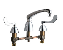 Chicago Faucets - 201-AL8E29-317CP - Kitchen Sink Faucet without Spray
