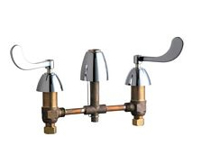 Chicago Faucets - 201-ALESSSPT317CP - Kitchen Sink Faucet without Spray