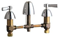 Chicago Faucets - 201-ALESSSPTXKCP - Kitchen Sink Faucet without Spray