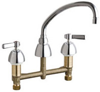 Chicago Faucets - 201-AVPCCP - Kitchen Sink Faucet without Spray