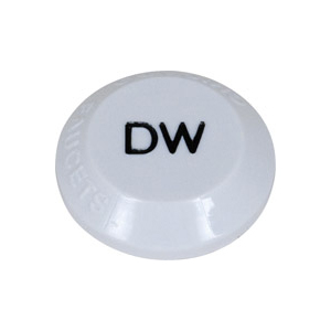 Chicago Faucets - 216-428JKNF - DISTILLED WATER Button