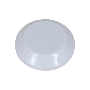 Chicago Faucets - 216-628WhitePLJKNF - Button Plain White NO Letters