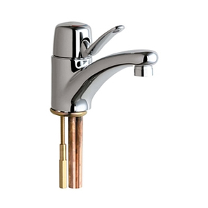 Chicago Faucets - 2200-E2805ABCP - Single Lever Lavatory Faucet