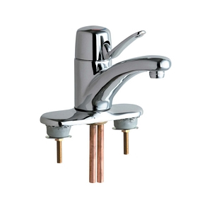 Chicago Faucets - 2201-4LESSPOASSYCP - Single Lever Lavatory Faucet