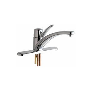 Chicago Faucets - SNGL LEVER KITCHEN FITTING,8 inch