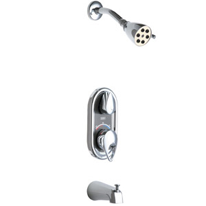 Chicago Faucets - 2500-600XKCP - Tub & Shower Fitting