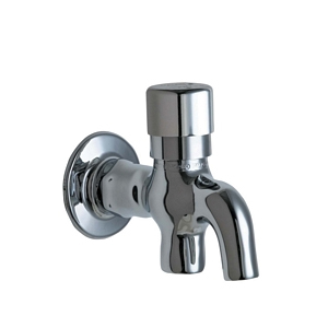 Chicago Faucets 324-ABCP Wall Mounted Push Button Glass Filler Valve