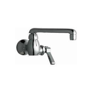 Chicago Faucets - 332-XKCP - Single Hole Wall Mounted Faucet