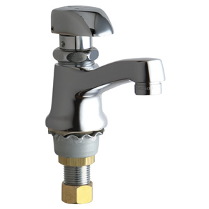 Chicago Faucets - 335-E12HOTCP - Single Faucet Metering