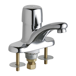Chicago Faucets - 3400-ABCP - Lavatory Fitting, Deck Mounted 4-inch