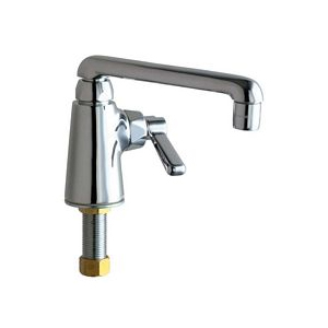 Chicago Faucets - 349-HOTCP - Single Hole Deck Mounted Pantry/Bar Faucet
