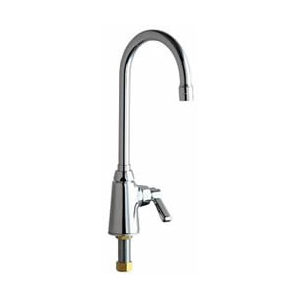 Chicago Faucets - 350-E29CP - Single Hole Deck Mounted Pantry/Bar Faucet